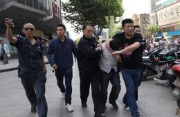 南京新街口一银行发生劫持事件 劫持者被抓获