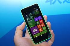 双卡双待 诺基亚Lumia 630现场实拍图集
