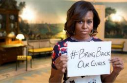 米歇尔谴责尼日利亚女生被绑架案 称感到愤怒和悲伤