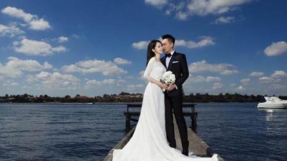 徐若瑄预计6月完婚 唯美婚纱照率先曝光
