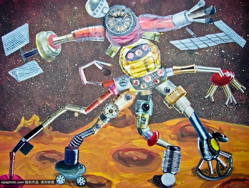 青少年绘画作品将被送往月球