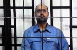 卡扎菲之子受审通过视讯会议回答法官提问