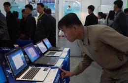 实拍第17届平壤春季国际商品展览会:琳琅满目