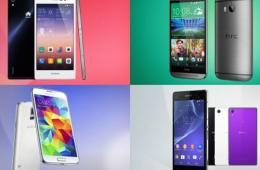旗舰对决:Ascend P7、Galaxy S5、Xperia Z2