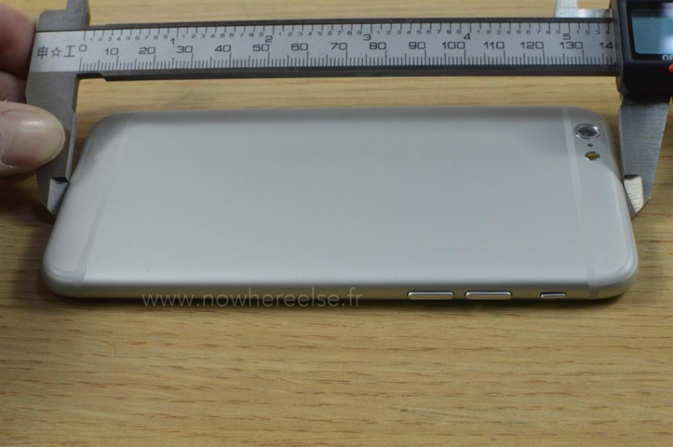 iphone 6外形尺寸曝光:对比iphone