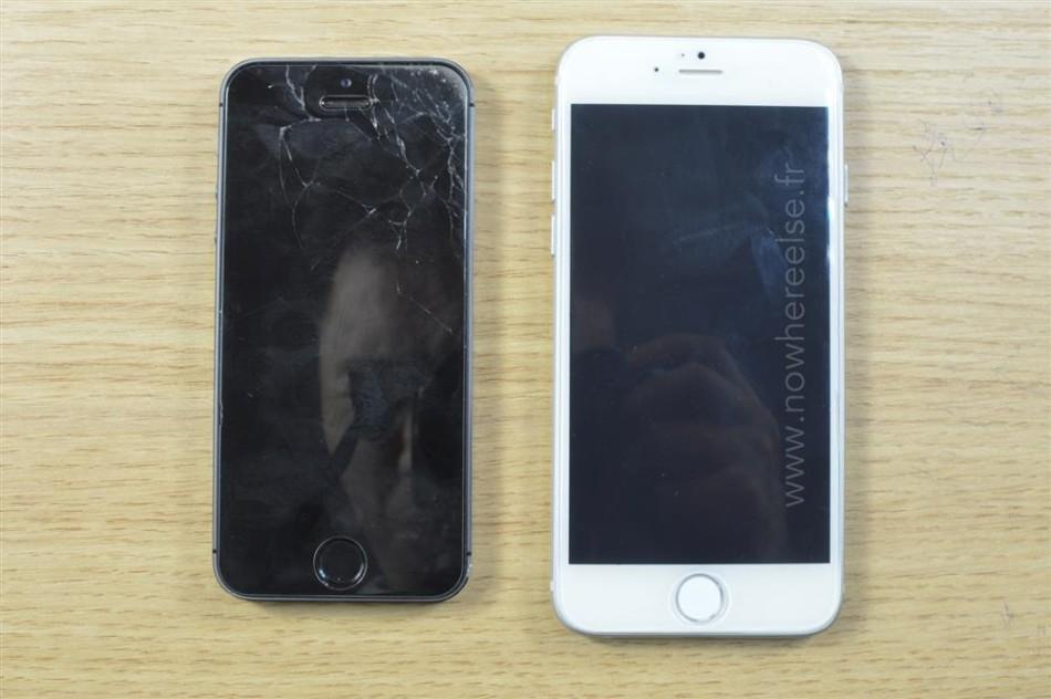 iPhone 6外形尺寸曝光:对比iPhone 5s