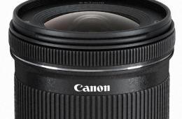 佳能推出EF-S 10-18mm 广角变焦镜头