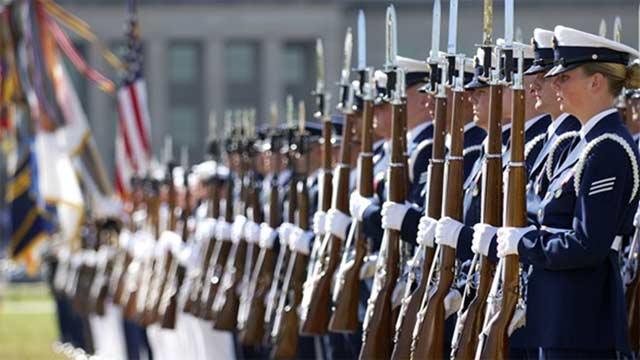 世界各国仪仗队女兵大盘点