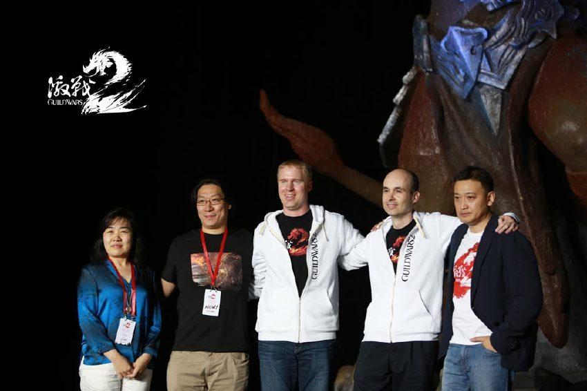 空中网《激战2》公测盛典举办 激战之夜共襄盛举