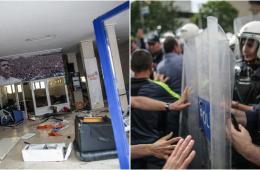 土耳其矿难引发民众示威 抗议者袭击执政党办公室