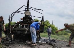 乌克兰军队于东部遭民间武装袭击 致6死8伤
