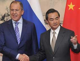 中俄外长通电话 俄方称普京访华具有重要意义