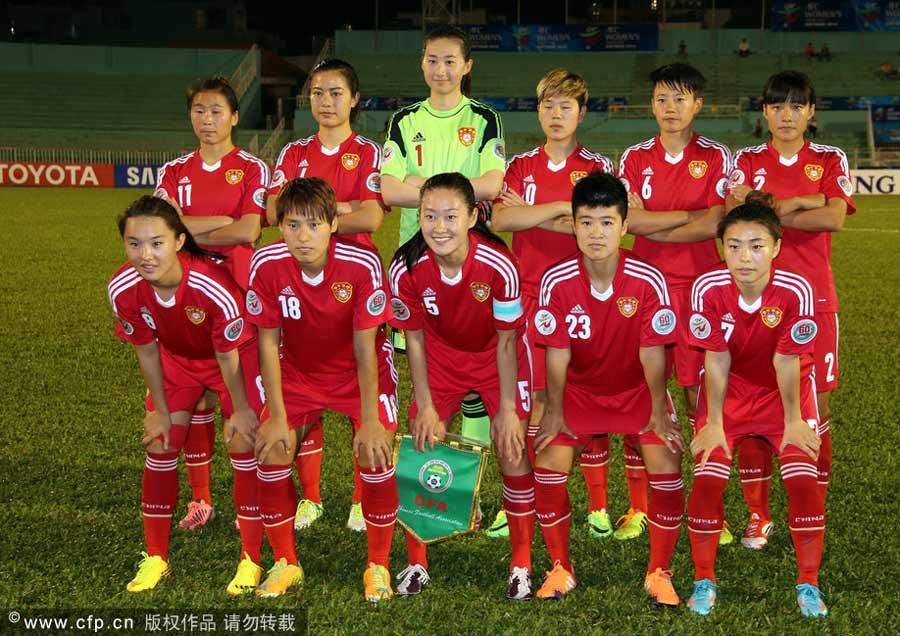 为男足报仇!亚洲杯中国女足7-0狂胜泰国