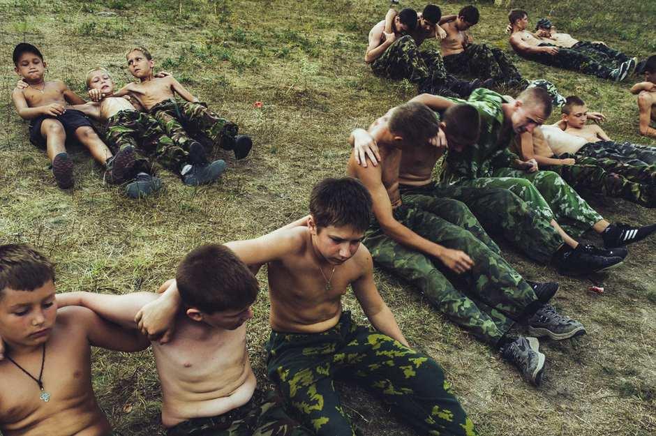 纪实摄影:乌克兰童子军