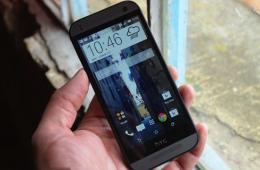 4.5寸720P屏幕 HTC One Mini 2外媒真机实拍