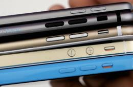 就是他了 iPhone 6机模对比其他苹果产品