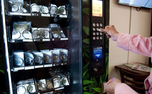 加拿大温哥华或将安装约400台大麻自动贩卖机 健康 环球网