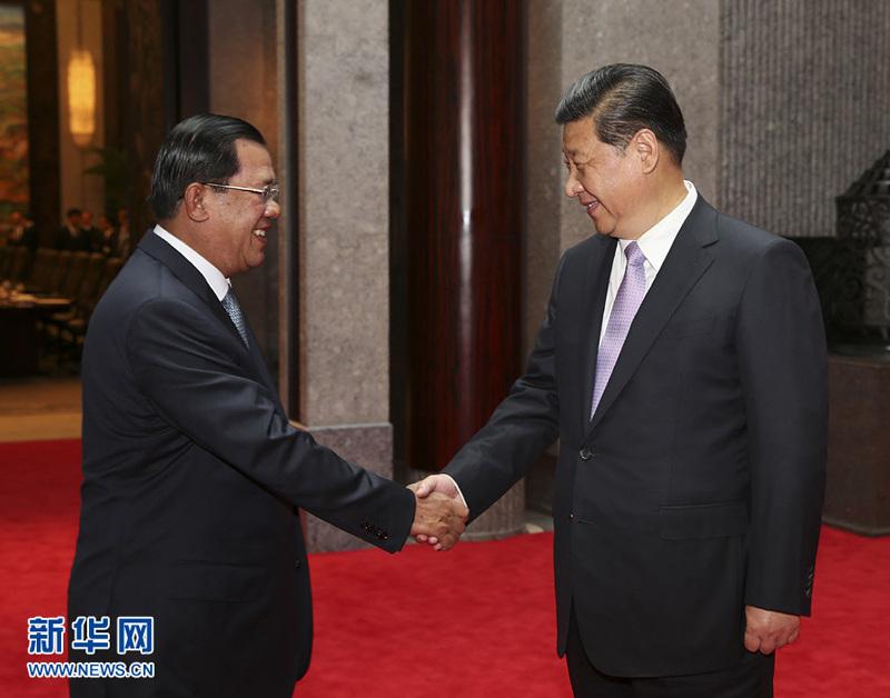 习近平在上海会见各国政要全纪录