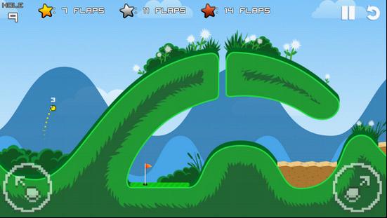 Flappy Golf:比Flappy Bird更值得一玩