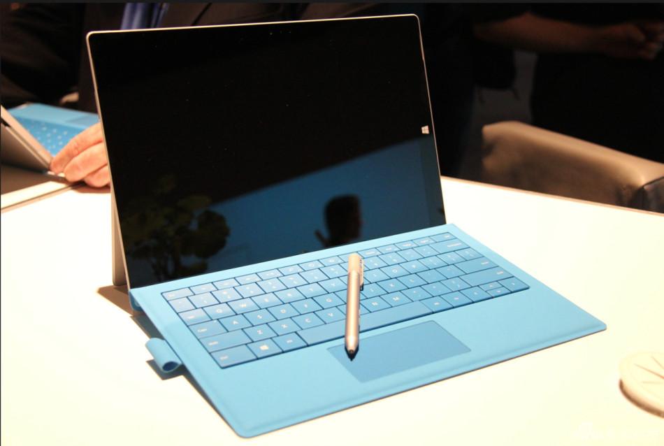 机身更加轻薄 微软Surface Pro 3实拍图集