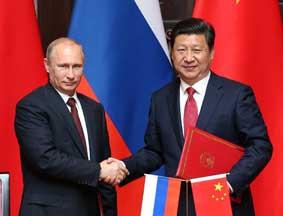 中俄签署联合声明