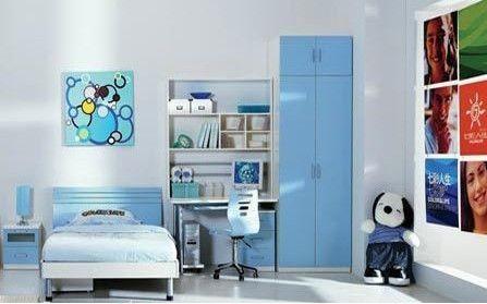 心理研究发现:多彩卧室可提升儿童智力