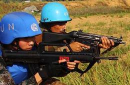 中巴精锐维和部队海外联合作战