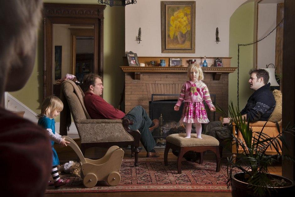 纪实摄影:因为是家人