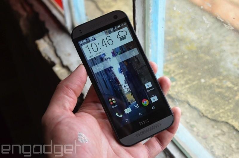 4.5英寸金属简约 HTC One mini 2图赏