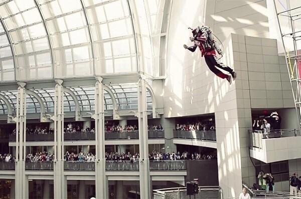 """美研究微型飞行器 可 偶像活动stars第二季免费观看实现""""钢铁侠""""飞天英姿"""