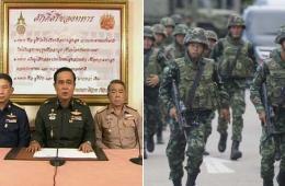 泰国军方发动政变 全国开始实施宵禁