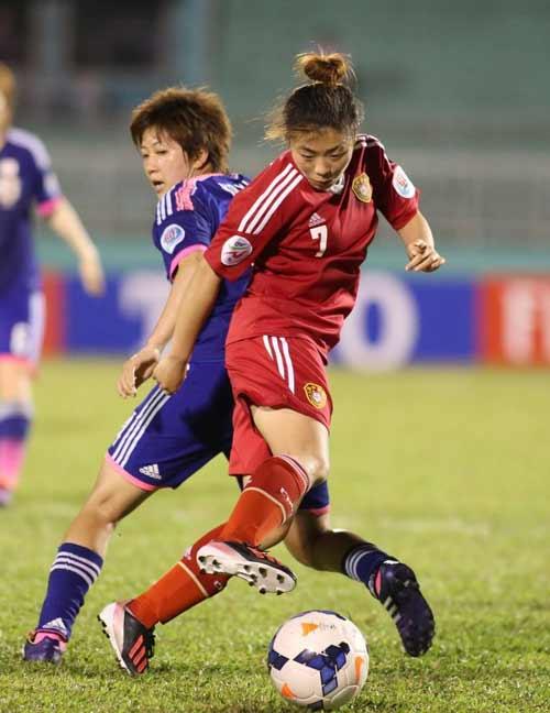 亚洲杯-女足1-2日本无缘决赛 加时遭压哨绝杀