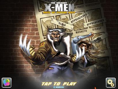 抢先体验 《X战警:逆转未来》同名游戏上架