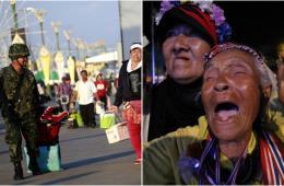 泰国军方对政治割裂失耐心发动政变 示威者无奈怒吼
