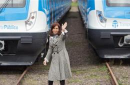 中国制造城铁列车正式交付阿方 阿根廷总统出席仪式