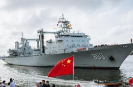 中国海军舰艇编队访问尼日利亚 开展反海盗演练