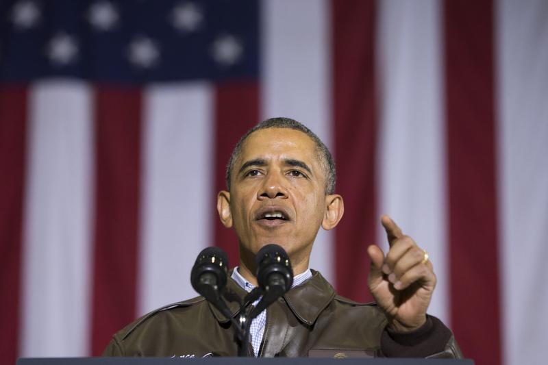 奥巴马突访阿富汗慰问美军士兵 承诺年内撤军