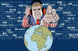 长篇漫画版图表新闻:美国全球监听行动纪录