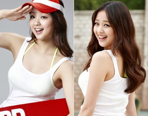 韩艺灵孙妍在拍广告
