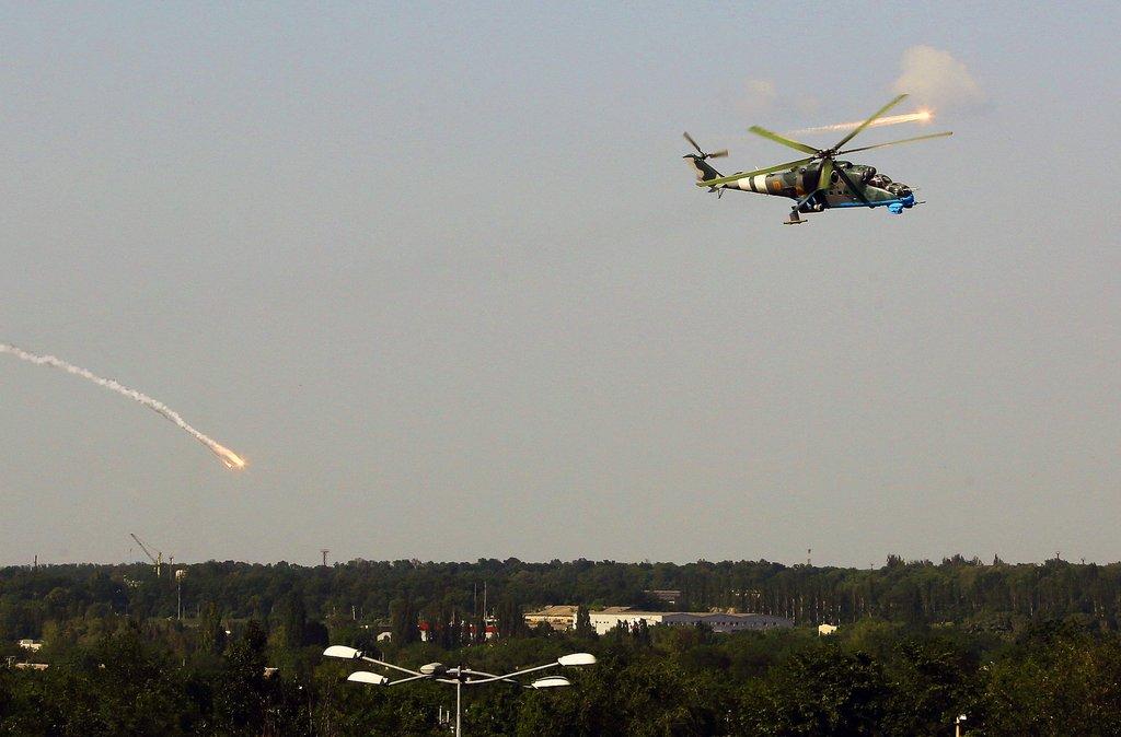 乌东部一机场遭民间武装占领 乌出动战机打击
