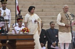 莫迪宣誓就职 正式成为印度新一任总理