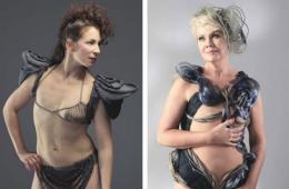 芬兰设计师为失乳女性打造特殊泳衣