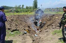 印度空军米格-21战机坠毁 驾驶员当场死亡