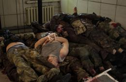 乌新领导人血洗机场 50余名民间武装人员丧生