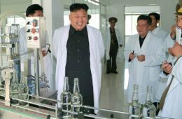 金正恩视察龙门酒厂 赞赏生产流程现代化