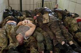 乌军血洗机场打死50名民间武装