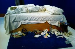 英国史上最受争议邪门艺术品《我的床》将拍卖