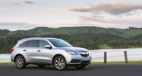 本田讴歌MDX-外媒推荐10款超实用家用跨界车与SUV高清图片