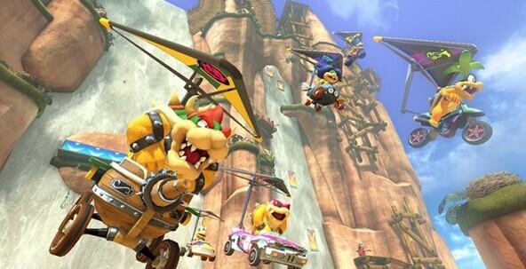 《马里奥赛车8》销量120万 成Wii U销售最快游戏