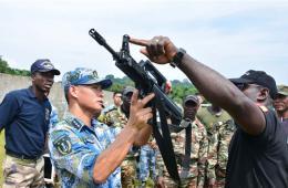 中国与喀麦隆海军首次进行反海盗联合演练
